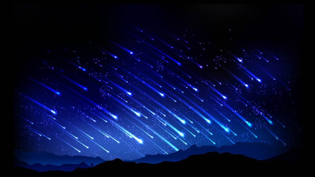 Resultado de imagen para lluvia de estrellas