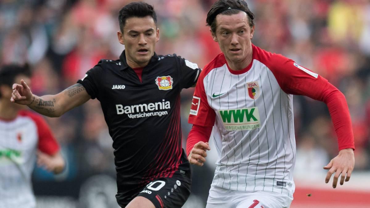 Con Aránguiz en los 90 minutos, el Leverkusen igualó 1-1
