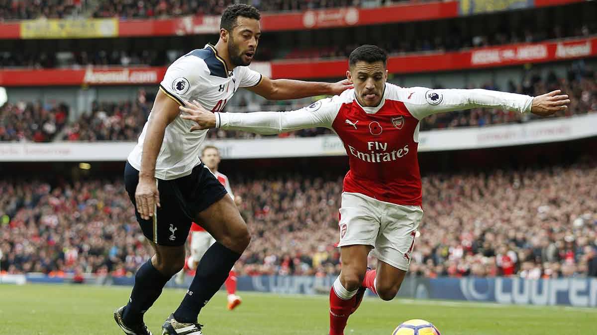 Triunfo polémico del Arsenal sobre el Tottenham en la Premier League