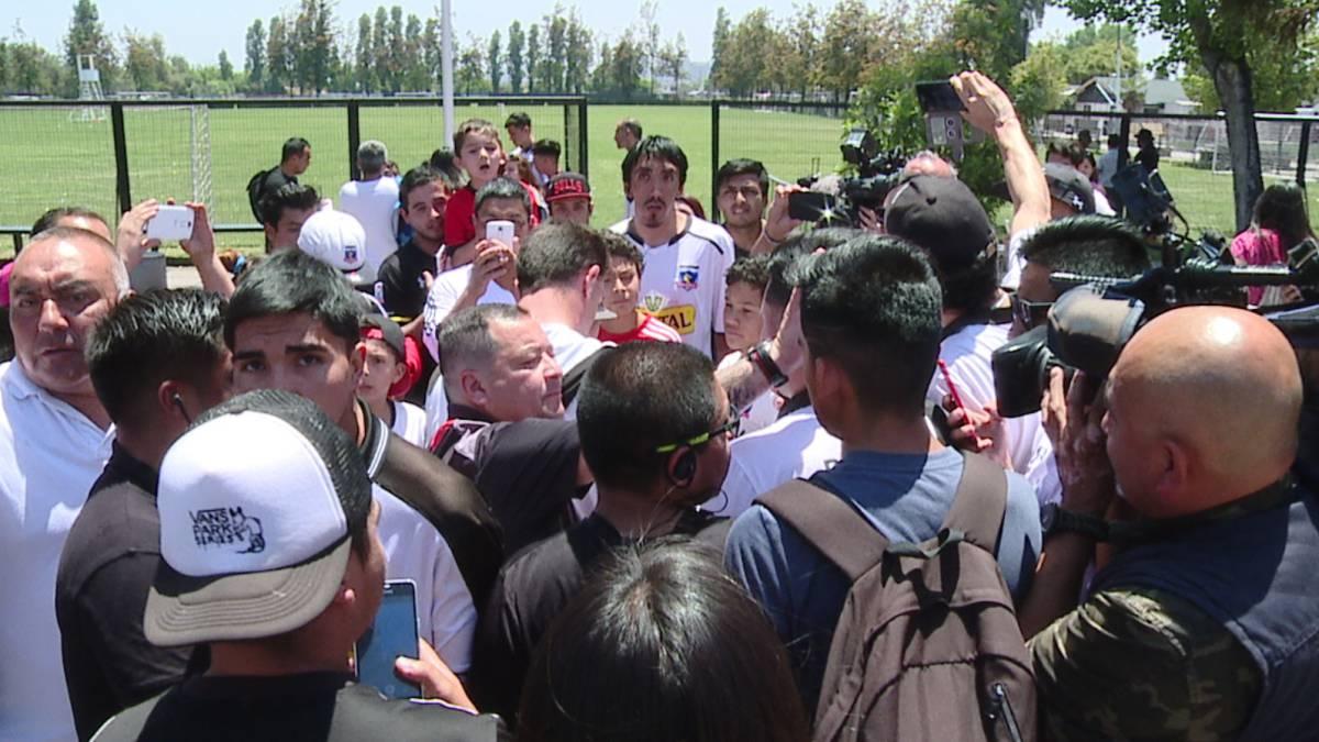 Esteban Paredes candidatea a Guede a La Roja: