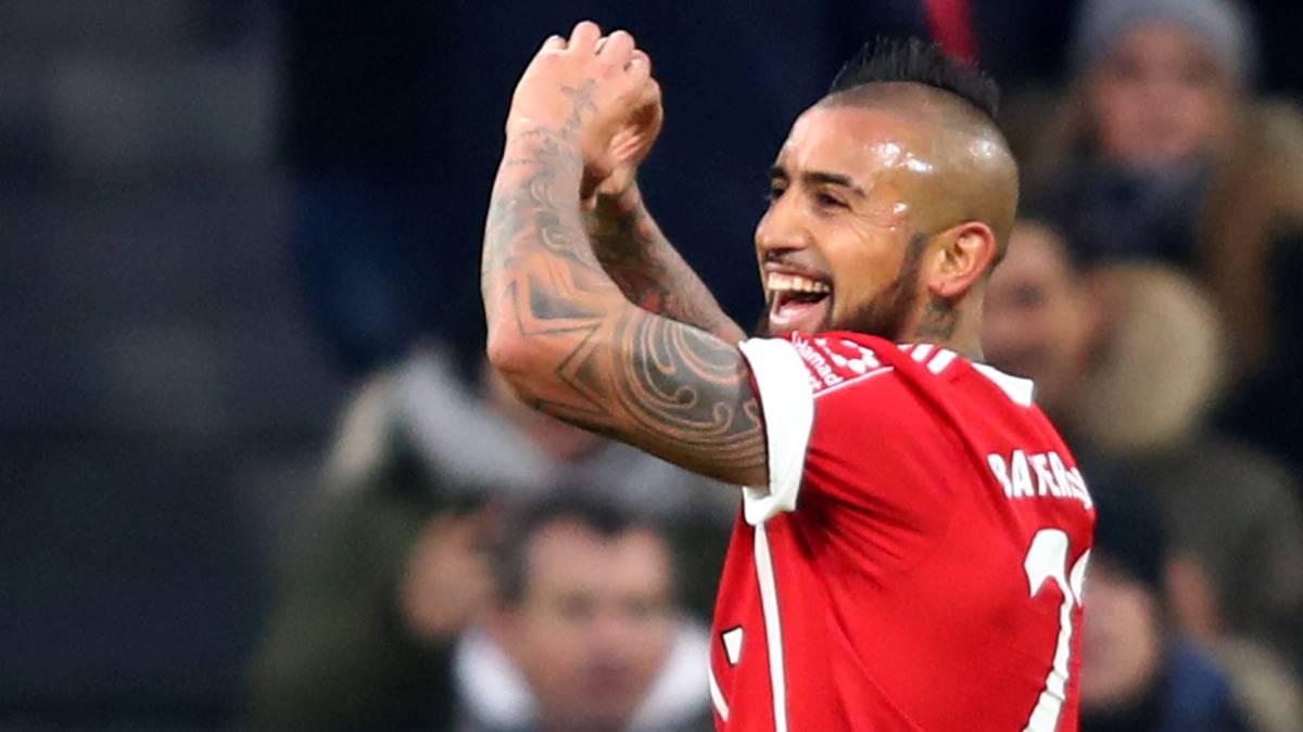 Arturo Vidal marcó para el triunfo del Bayern Munich — Bundesliga