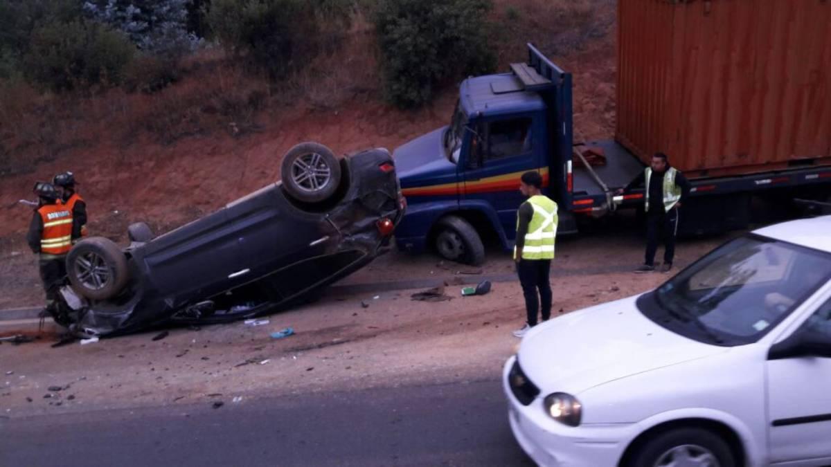Jugador de Santiago Wanderers chocó en su vehículo rumbo al entrenamiento