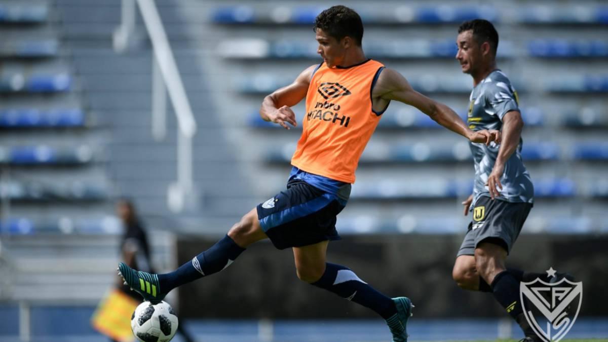 Vélez goleó a Universidad de Concepción