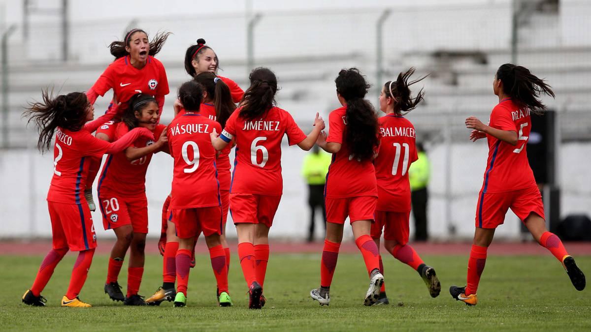 Chile goleó a Bolivia en el Sudamericano Femenino Sub 20