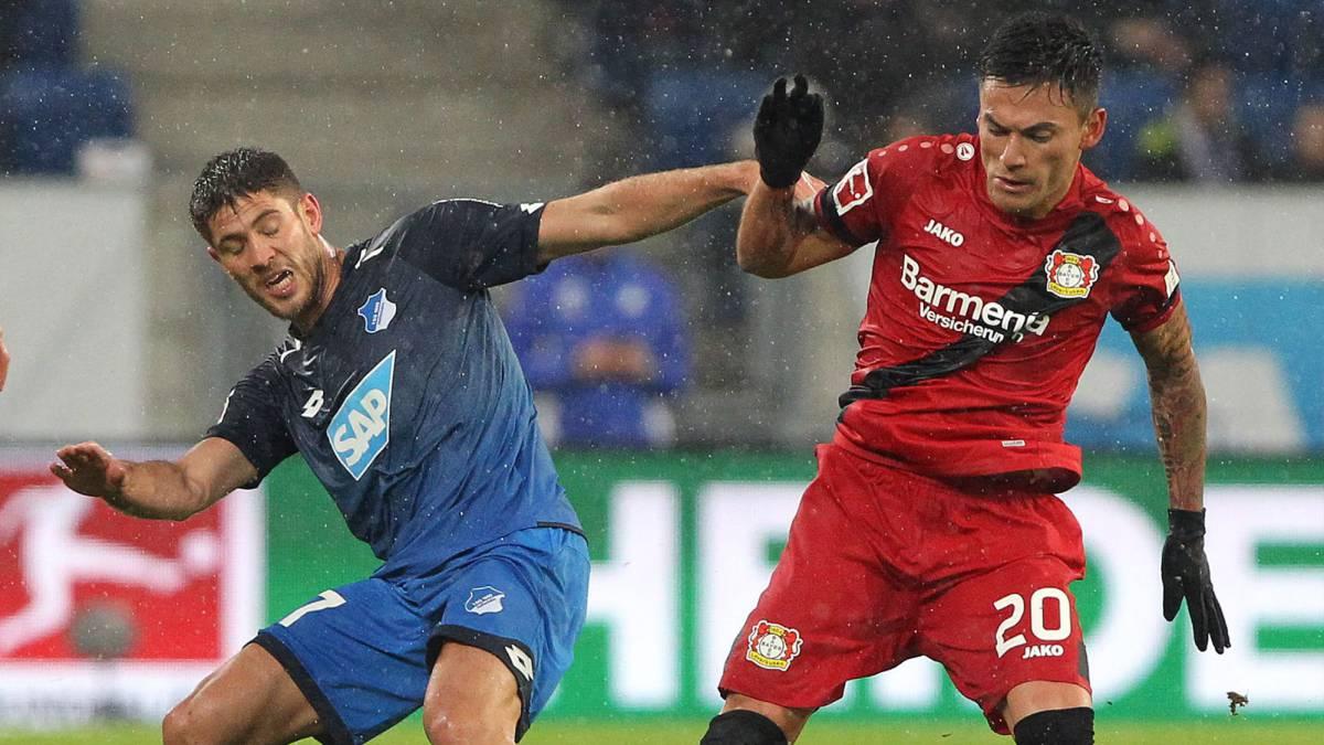 Charles Aránguiz participó en goleada de Bayer Leverkusen en la liga alemana