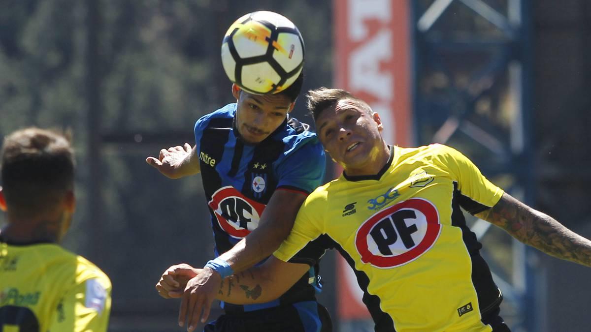 Huachipato y San Luis animaron un intenso empate en Talcahuano