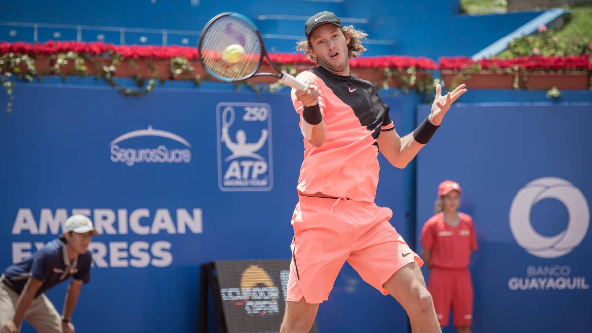 Diego Schwartzman fue contundente y pasó a semifinales del ATP de Río