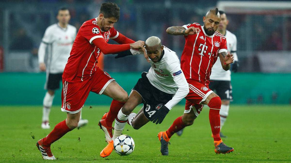 Besiktas vs Bayern Múnich, UEFA Champions League — En vivo