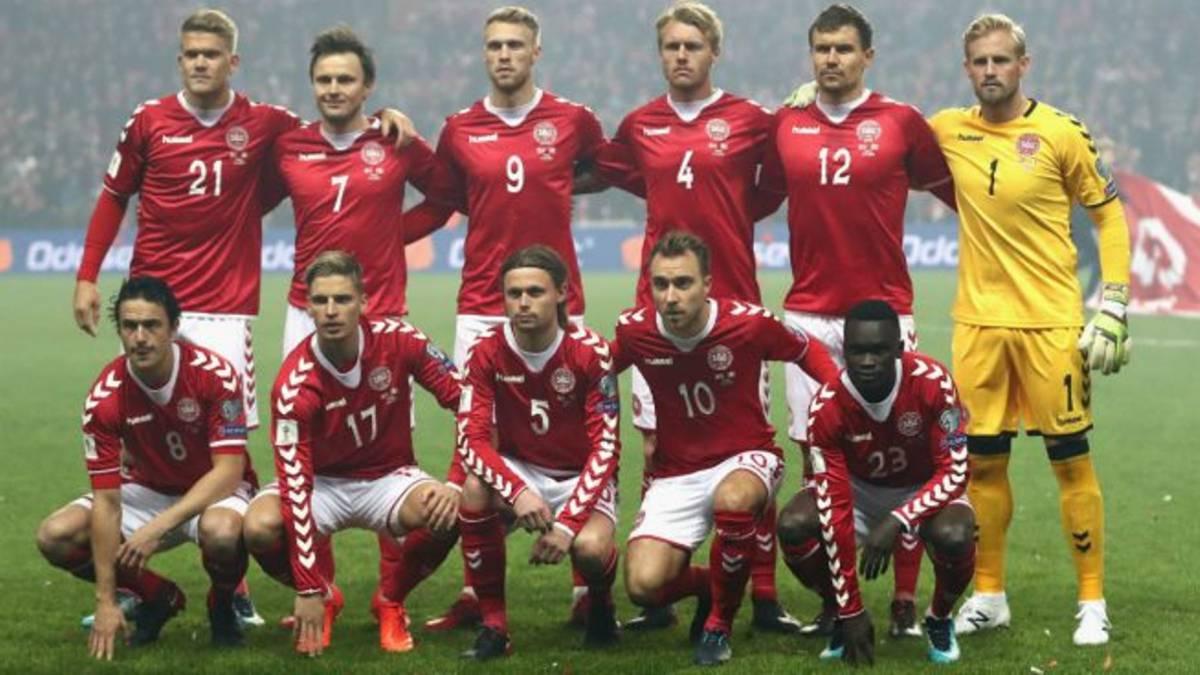Dinamarca ya anunció nómina para el amistoso ante Chile
