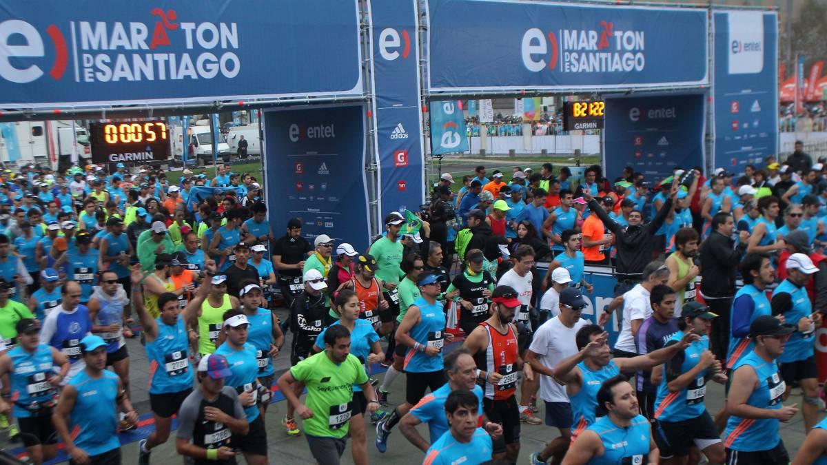 Resultado de imagen para maraton de santiago 2018