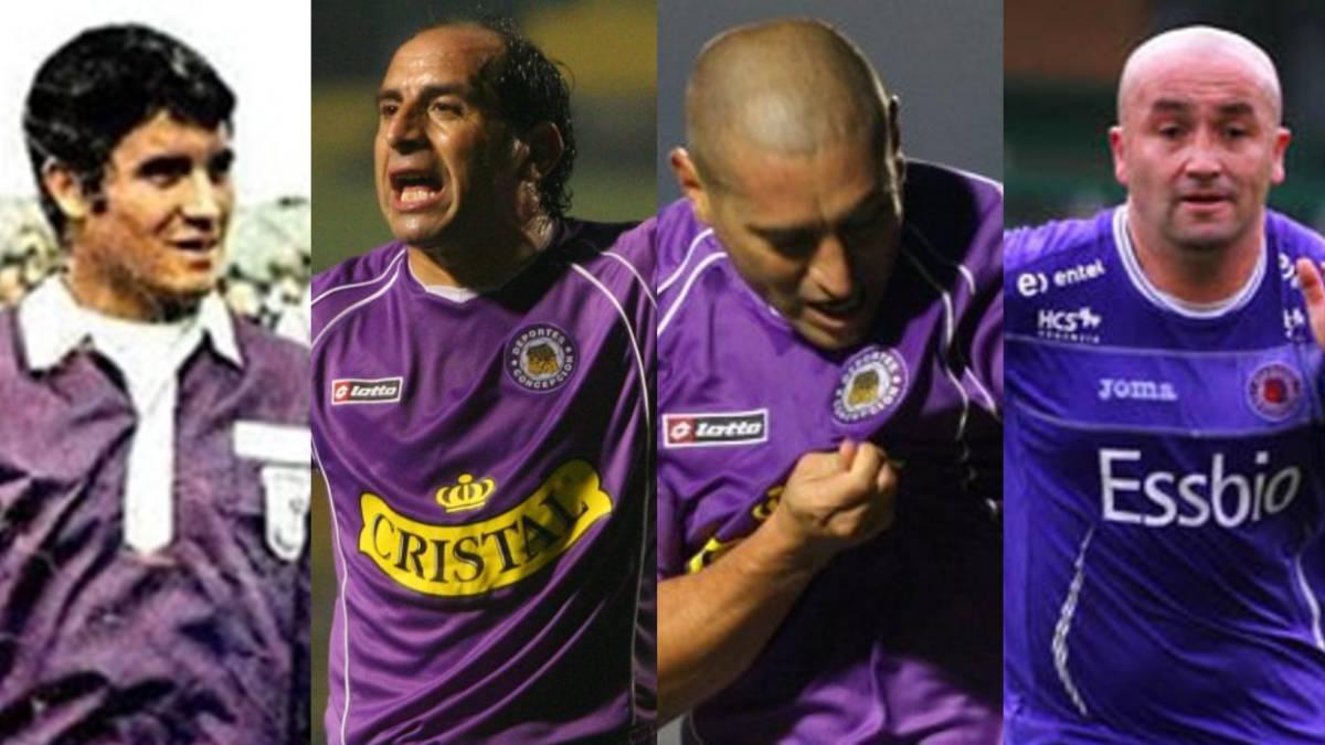 Los históricos que han vestido la camiseta de Concepción - AS Chile