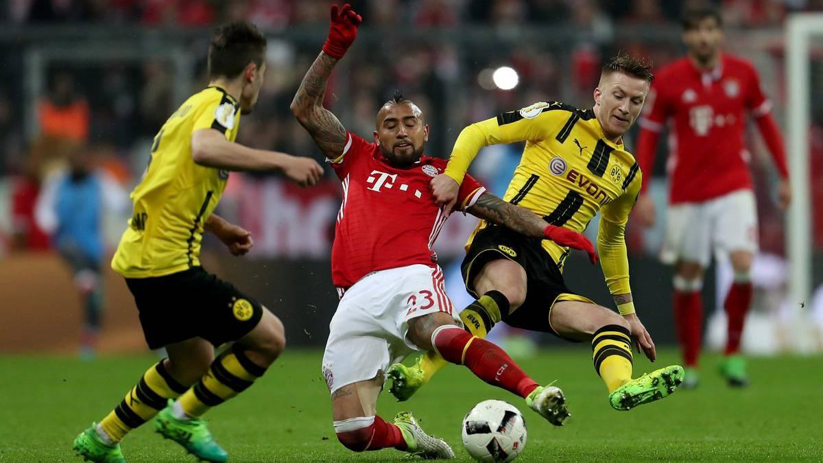 Arturo Vidal no estará en el clásico de Alemania por lesión
