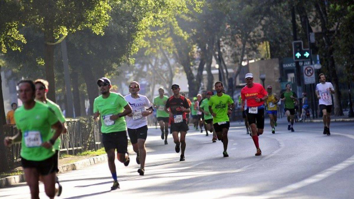 ¡Ojo! Estos son los desvíos de tránsito por el maratón de Santiago