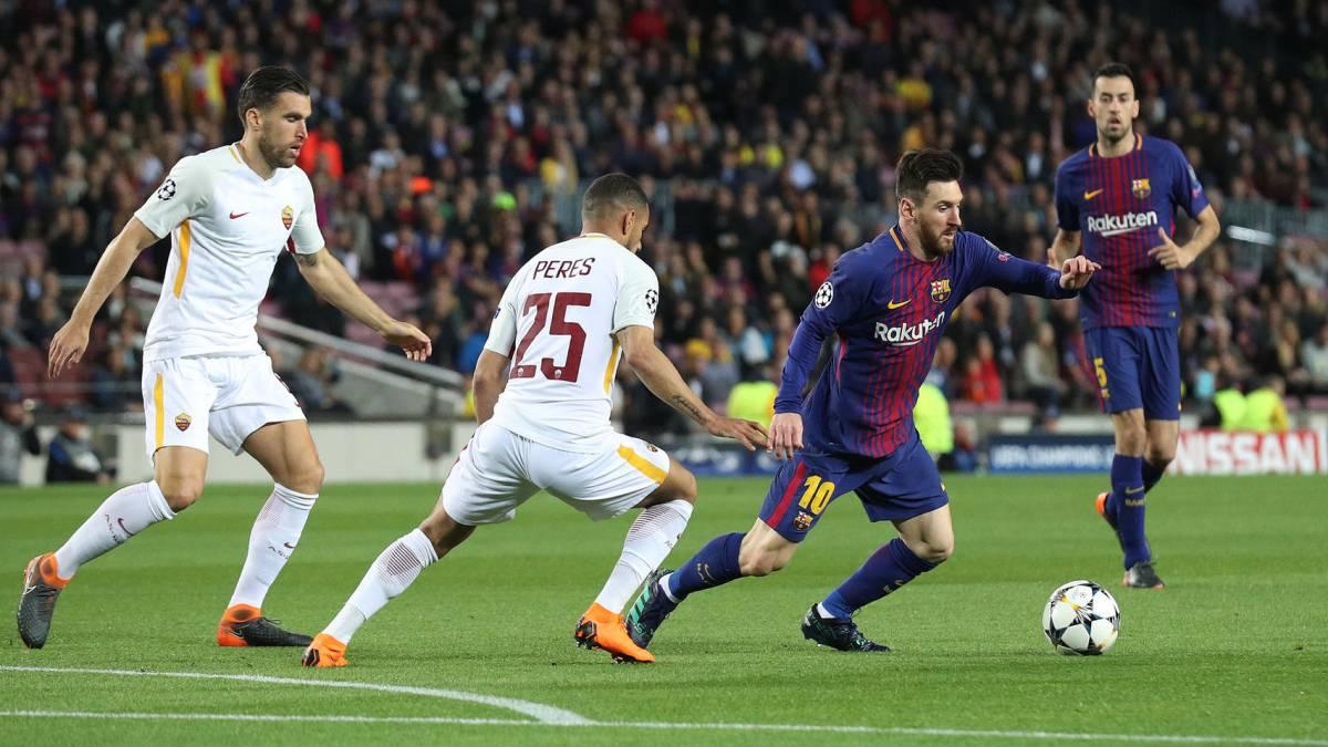 El Barcelona sale a terminar el trabajo en Roma