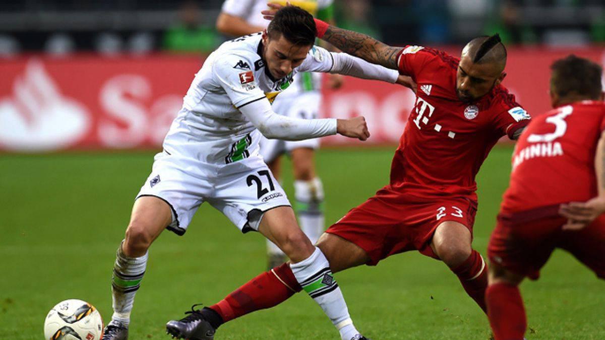 Bayern Munich se da gusto goleando al Mönchengladbach