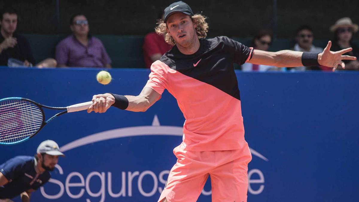 Nicolás Jarry avanzó en la qualy del Masters 1.000 de Roma