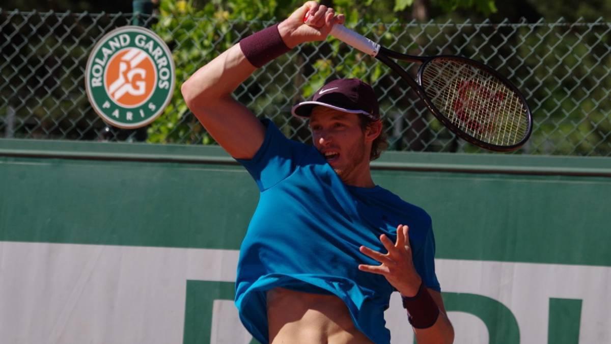 Máximo González, a cuartos de dobles en Roland Garros