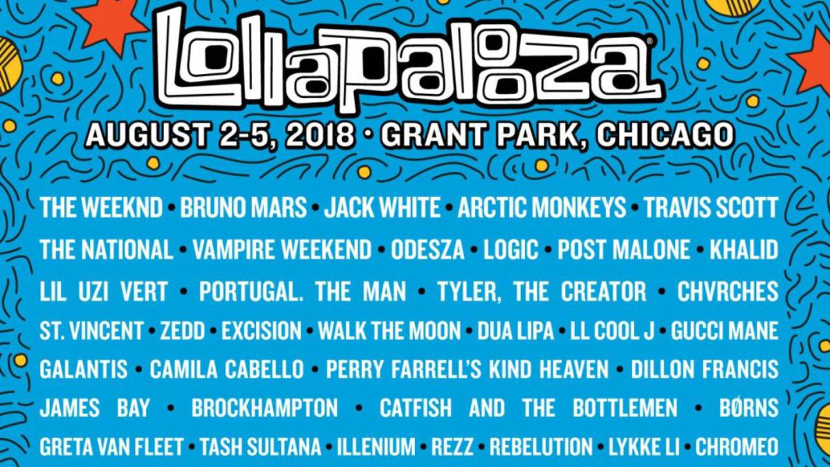 [EN VIVO] Sigue los shows de Lollapalooza Chicago 2018
