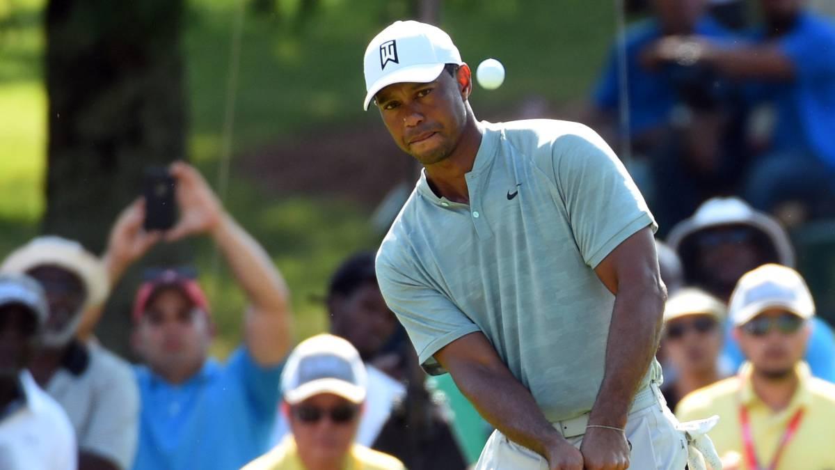 Tiger Woods es protagonista otra vez en el Tour Championship