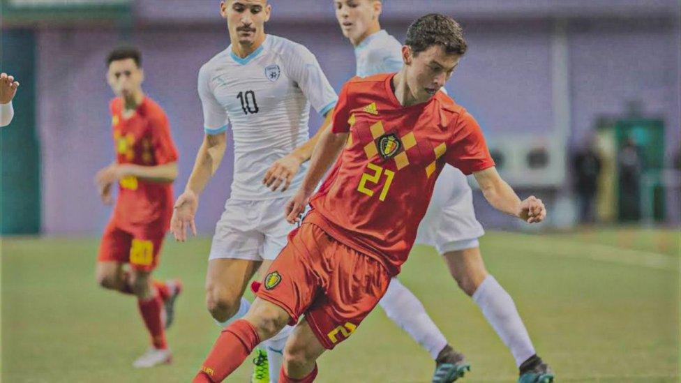 Víctor Mendoza Rosende (17) - Volante - OH Leuven U18 (Belgica)