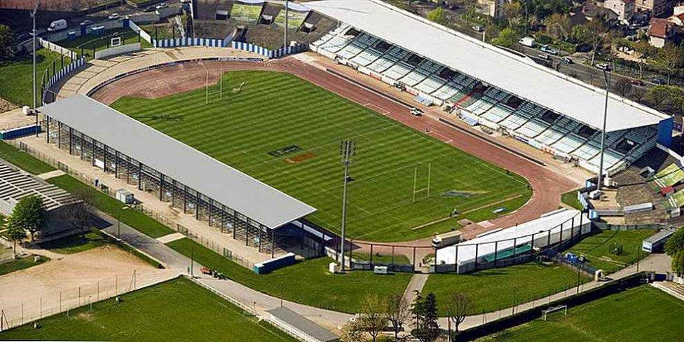 Estadio Olímpico de Colombes (Francia)