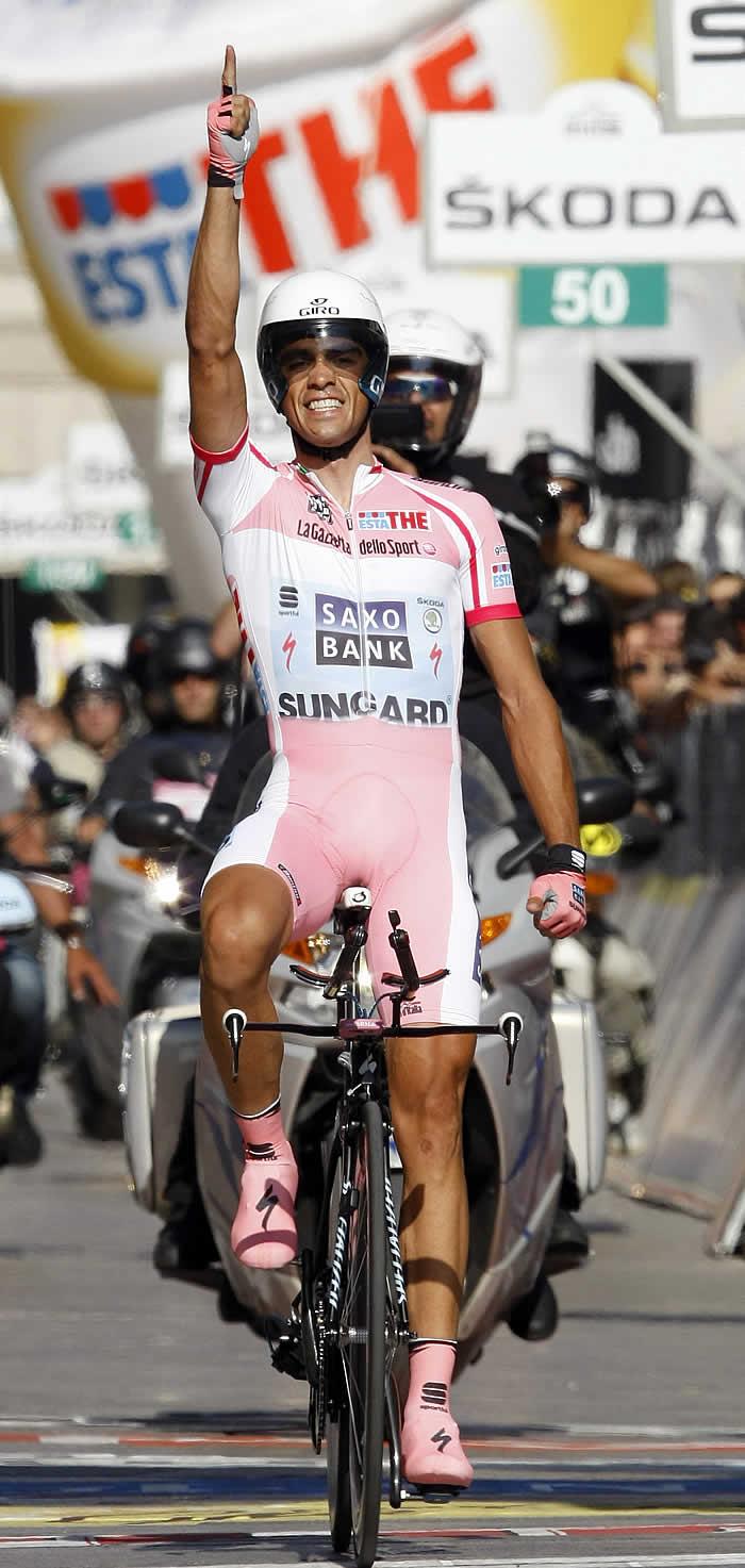 """""""En este Giro no quería demostrar nada a nadie"""""""