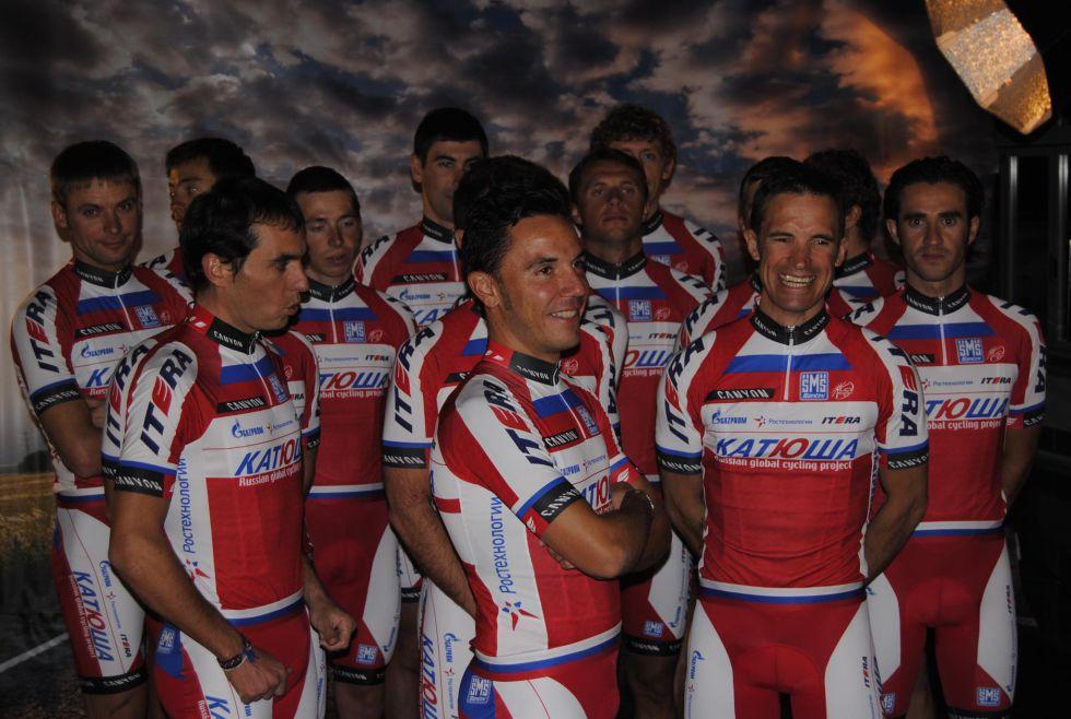 La política antidopaje del Katusha no convenció a la UCI