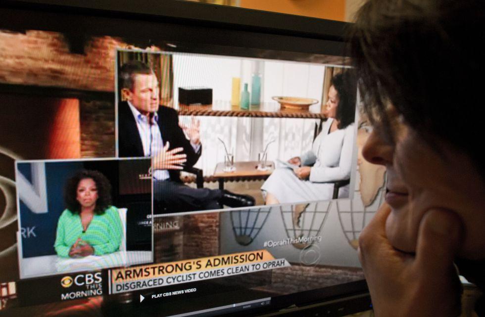 """Armstrong: """"Un día le dije a mi hijo: 'no me defiendas más"""""""