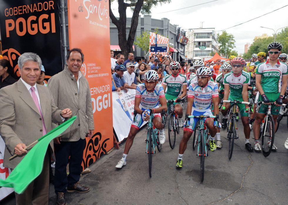 El italiano Sacha Modolo gana al sprint la segunda etapa