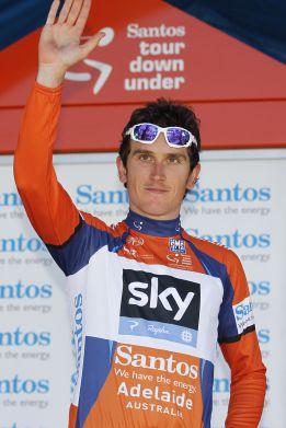 Geraint Thomas gana la etapa y Javier Moreno acaba segundo