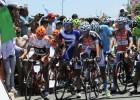 Diniz, líder tras el primer final en alto y Contador es 14º