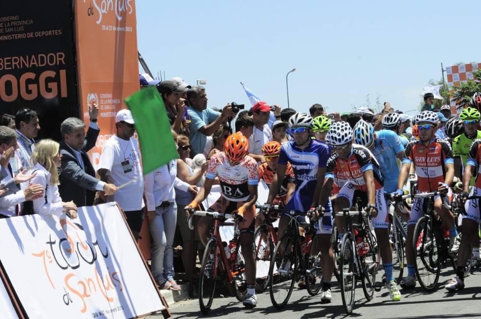 Diniz, líder tras el primer final en alto; Contador, decimocuarto