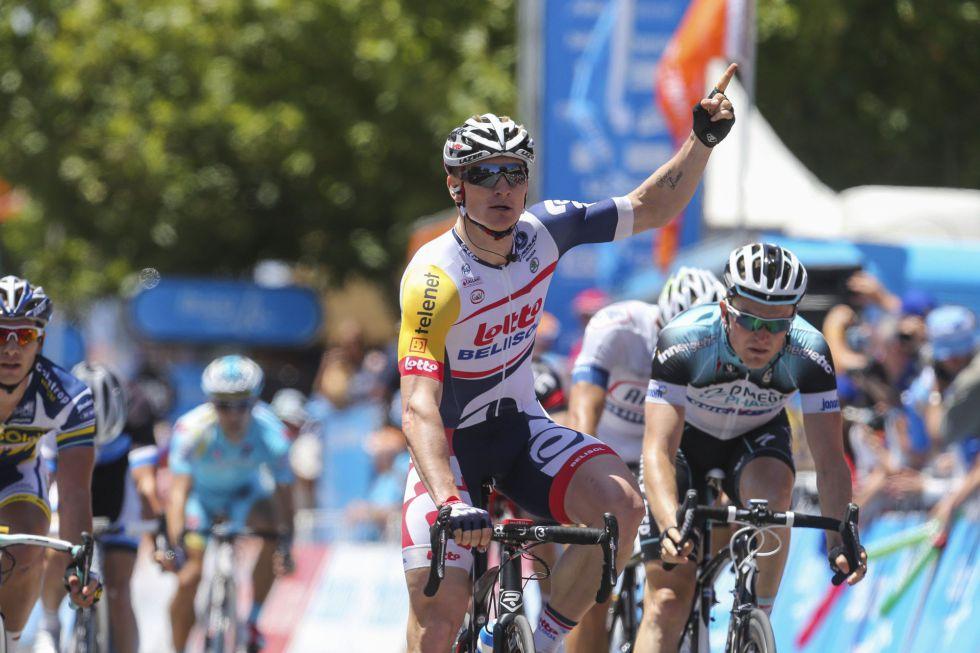 Greipel se impone en la cuarta etapa y Thomas sigue líder