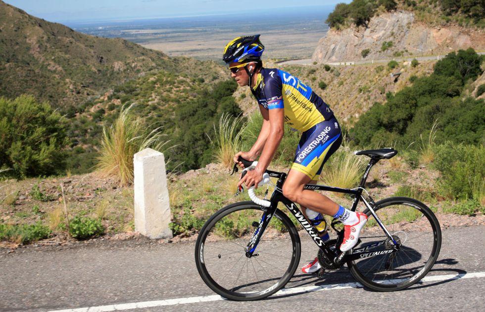 Daniel Díaz se pone líder tras final en alto de la quinta etapa