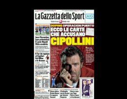 La Gazzetta vincula a Mario Cipollini en la Operación Puerto