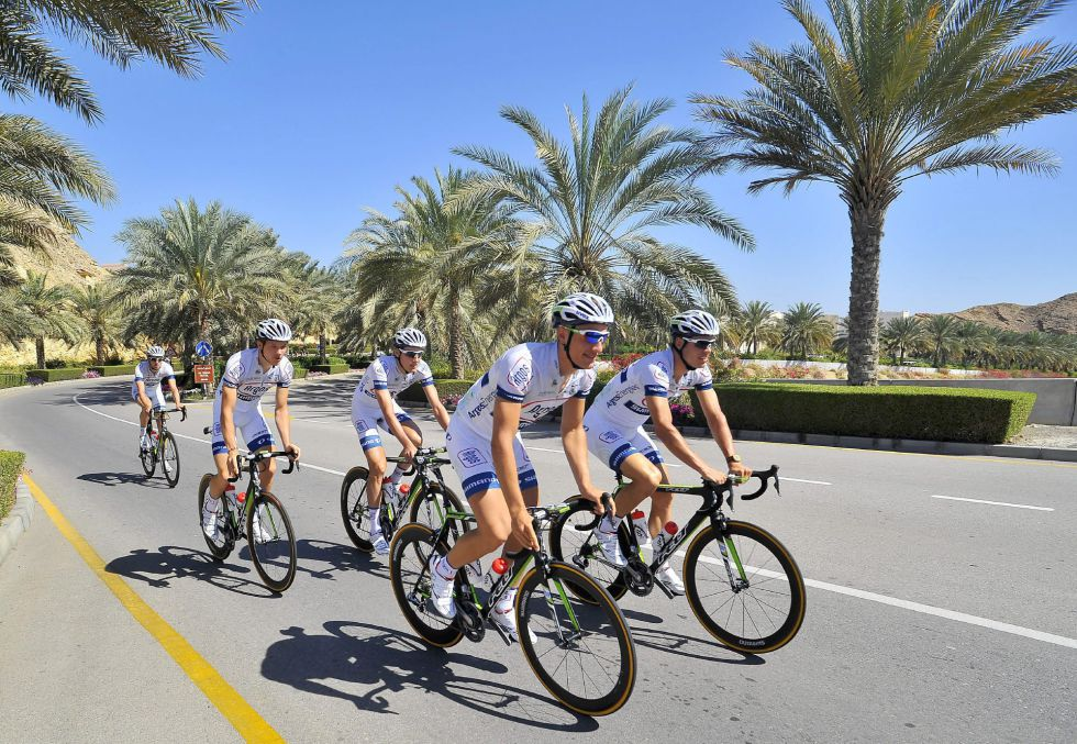 Kittel se impone en la primera etapa del Tour de Omán