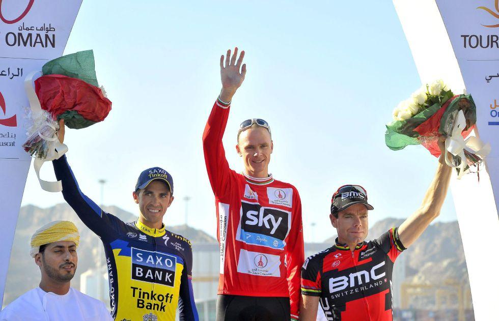 Chris Froome conquista Omán y Contador termina segundo