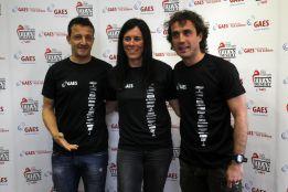 César, Ezquerro, Coma, Pasaban y Tudel, en el equipo GAES