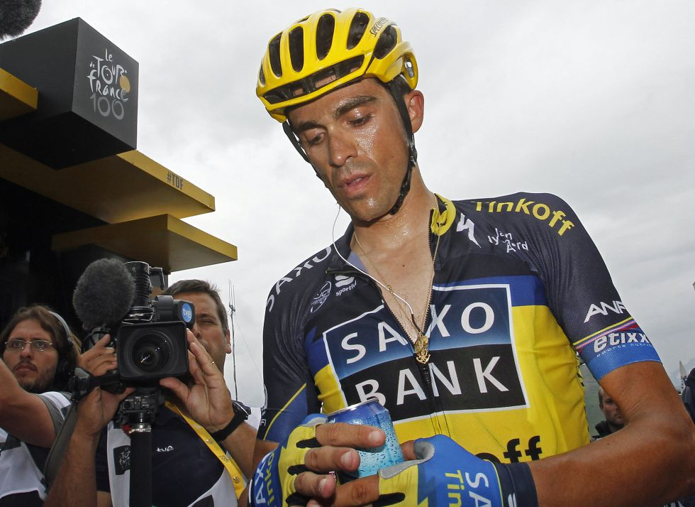 Alberto Contador no correrá la Vuelta a España 2013