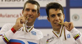 David Muntaner y Albert Torres, medalla de oro en madison