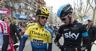 Francia ve en Contador la gran alternativa a Chris Froome