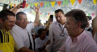 """El presidente Santos: """"Hoy es un día histórico para Colombia"""""""