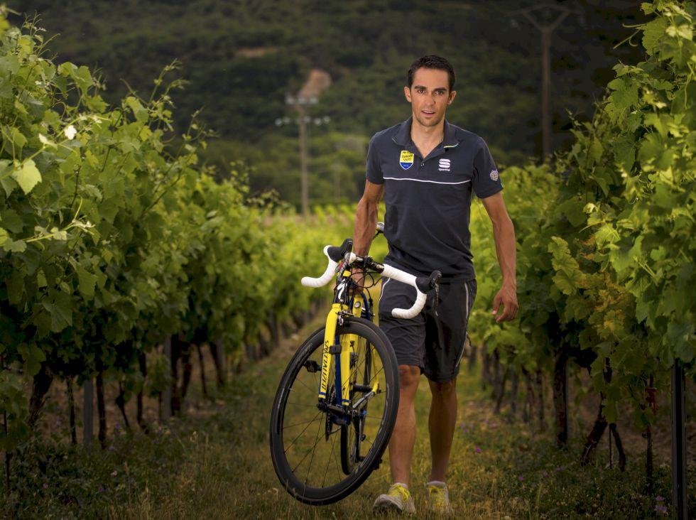"""Alberto Contador: """"Froome es el favorito, pero no es imbatible"""""""