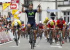 Juanjo Lobato gana al sprint la tercera etapa del Tour de Valonia