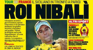 "Eddy Merckx: ""Nibali es un ciclista old-fashion, a la antigua"""