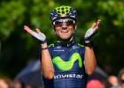 """Valverde: """"Llevo diez triunfos en 2014, sólo puedo estar contento"""""""