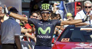 Quintana se prueba hoy en la etapa de las Lagunas de Neila