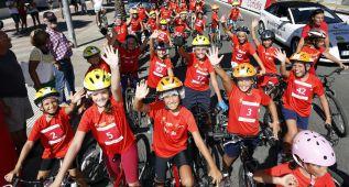 La Vuelta Júnior Cofidis arrancó ayer en Jerez con 115 niños