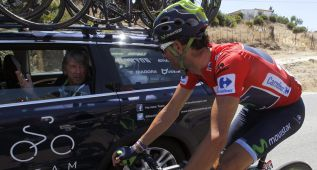 """Alejandro Valverde: """"Perder siete segundos no es nada"""""""