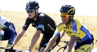 """Froome: """"Movistar es el rival y Contador está muy fuerte"""""""